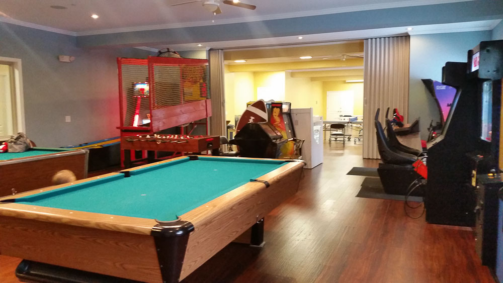 Game & Social Room | The Chimney House - PA Vacation Rental Home